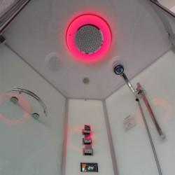Osvetlenie v parnom boxe a hydromasážnej vani