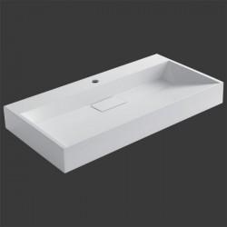 umývadlo drez BB087-5E (minerálny odliatok) 90 cm