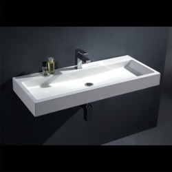 umývadlo drez BB087-7E (minerálny odliatok) 100cm
